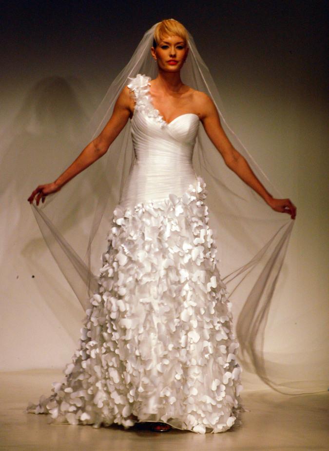 Rapunzel Wedding Gown Unveiled During Bridal Fashion Week ...