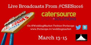 Live Video Broadcasts From Catersource In Las Vegas