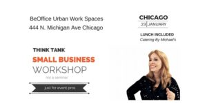 Think Tank Small Business Workshop Chicago @ BeOffice Urban Workspaces | Chicago | Illinois | United States