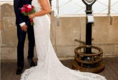 Empire State Building Celebrates Milestone 25th Year Of Valentine's Day Weddings