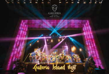 Galleria's Island Wedding Festival Was Attended by International Celebrities and High-End Luxury Brands